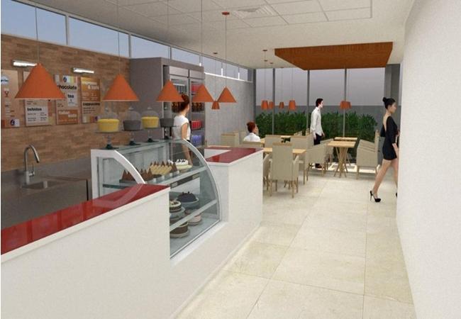 Cafeteria Franquia Prédio Comercial- Z.Sul-SP. - Zona Sul - R$ 325.000,00