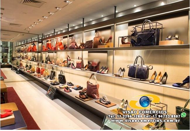 Franquia Famosa de Sapatos  Shopping-Região SBC