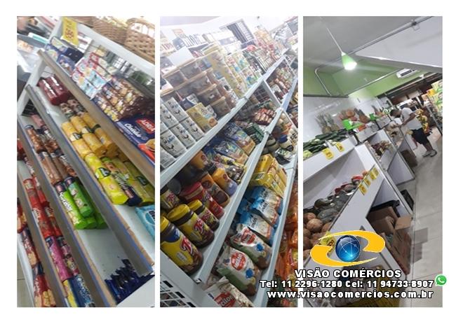 Mercado com Hortifruti e Padaria-Z.Leste-SP
