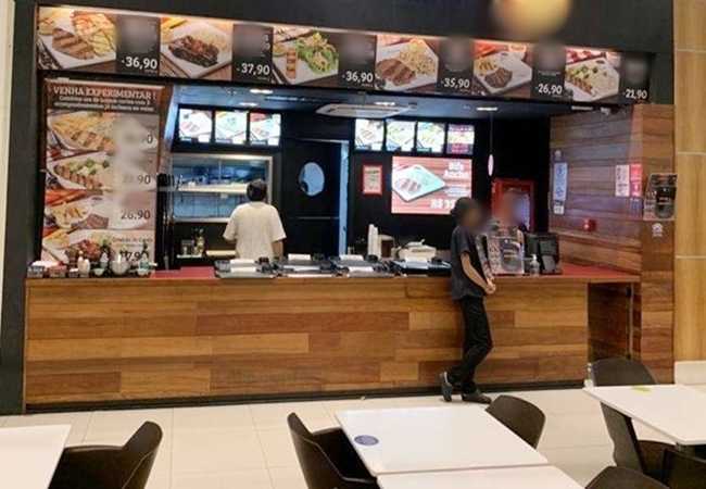 Franquia Fast Food Prédio Comercial-Z.Sul-SP